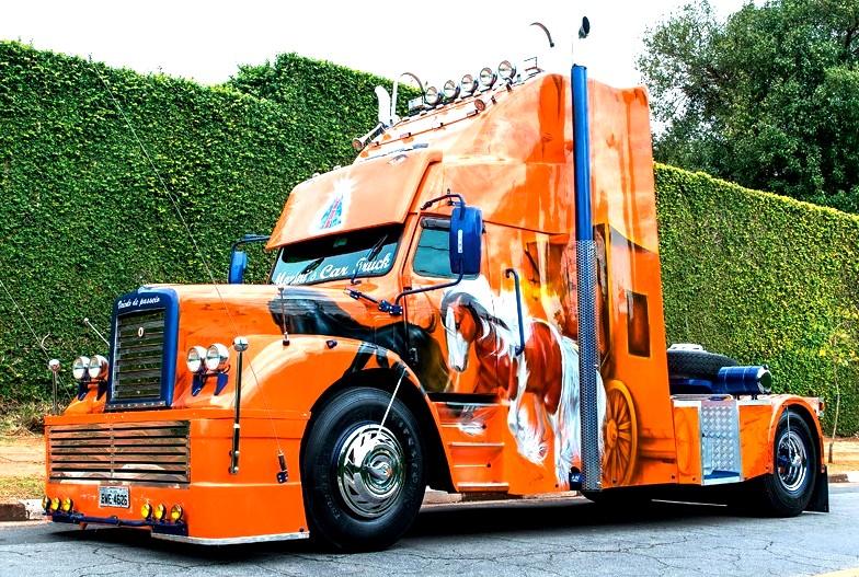 Beeindruckende Metamorphose: Veralteter Scania zu US-Truck