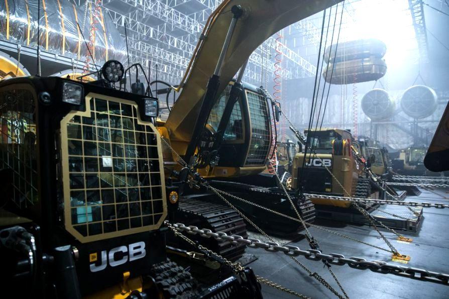 "JCB-Sonderfahrzeuge im neuen ""Alien: Covenant"""