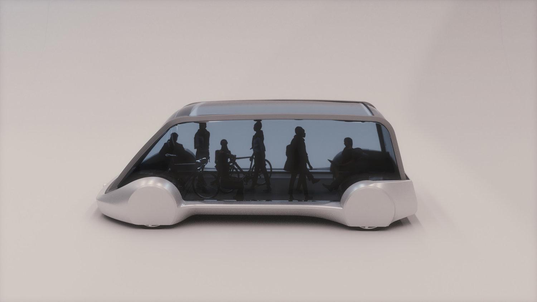 Elon Musk: Teaser des Kleinbusses für die neue Auto-U-Bahn