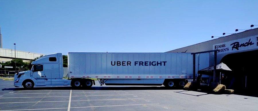 Das erste Bild Uber Freight