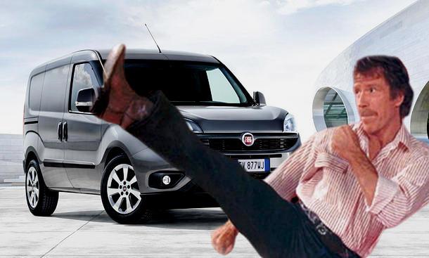 Chuck Norris für eine Fiat-Werbekampagne