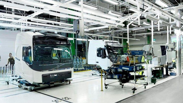 Volvo Trucks: Klarheit und Ergonomie des Arbeitsplatzes