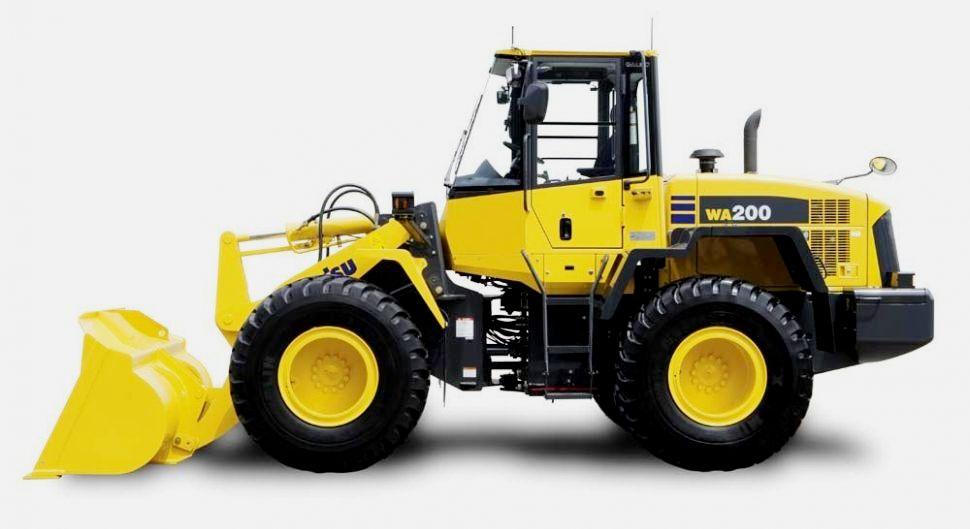 Komatsu bringt den neuen Radlader WA200-8