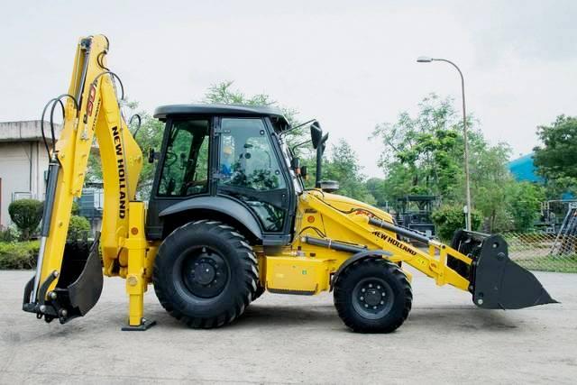New Holland B80B: effektiv, wirtschaftlich und komfortabel