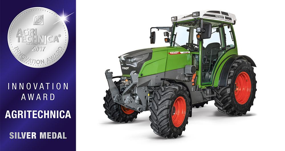 Vollelektrischer Traktor von Fendt: 5 Stunden ohne Nachladung