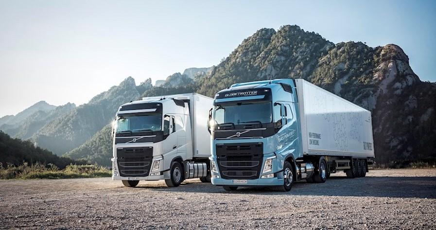 Volvo Trucks präsentiert gasbetriebene FH und FM Reihen