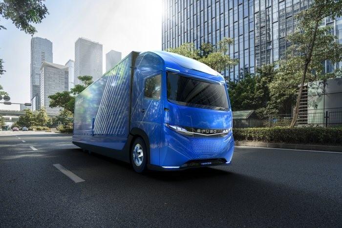 Daimler Trucks bringt E-Fuso Visione One auf den Markt