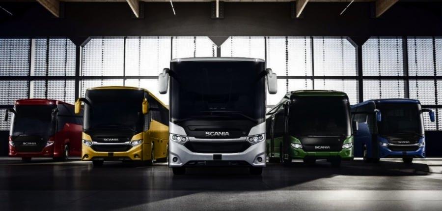 Scania zeigt Busse mit alternativen Kraftstoffen