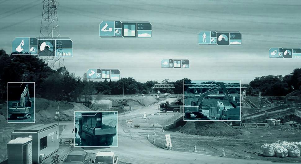 Komatsu bringt künstliche Intelligenz auf Bauplätze