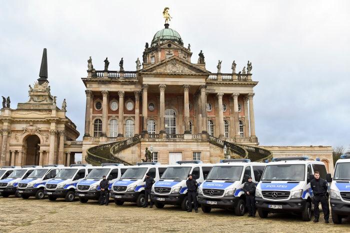 Erfolgreiche Zusammenarbeit 2017: Mercedes-Benz Vans und die Bundespolizei