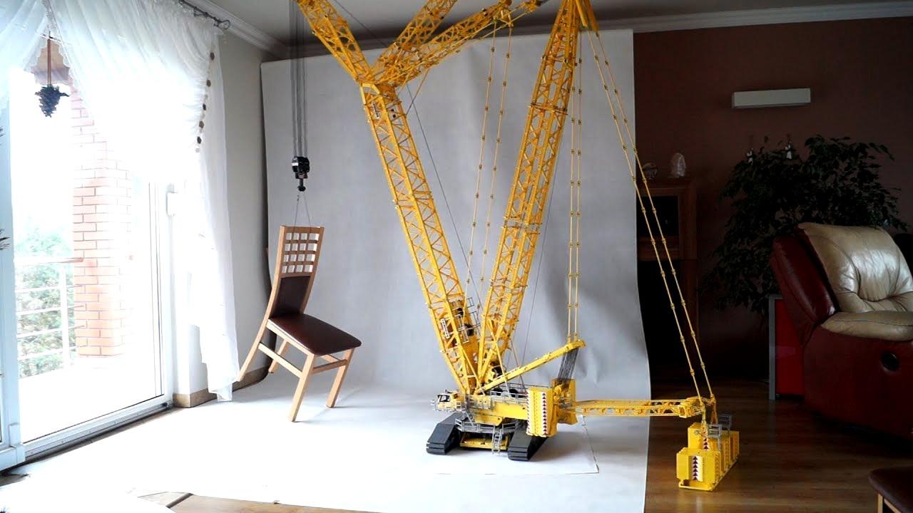 Der größte Lego-Kran mit Fernbedienung
