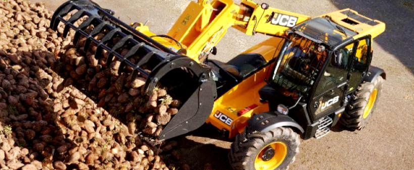 JCB bietet Landwirten mehr Effektivität