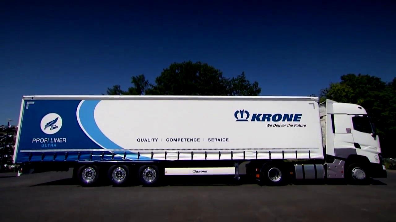KRONE präsentiert einzigartige Ladungssicherungssysteme