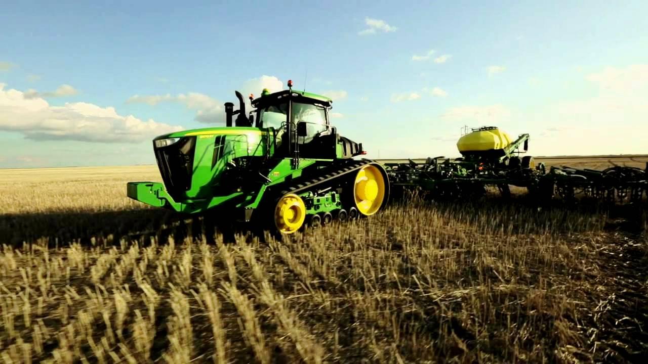 John Deere 9R Traktorenfamilie erhält Aktualisierungen