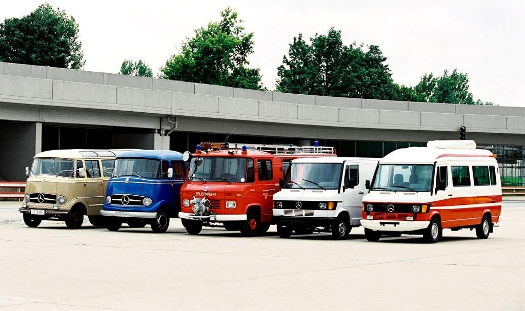 Geburtstag: 20 Jahre Mercedes-Benz Kleinbusse – eine große Erfolgsgeschichte