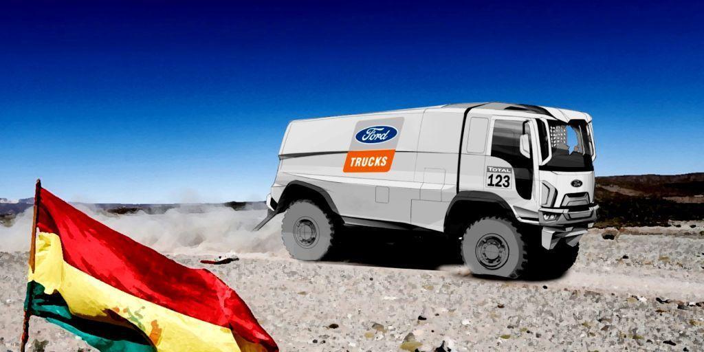 Ford Trucks beteiligte sich an der Rallye Dakar 2019