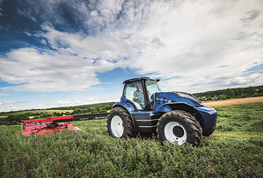 Methan-Traktor New Holland holte sich eine Auszeichnung für sein Design