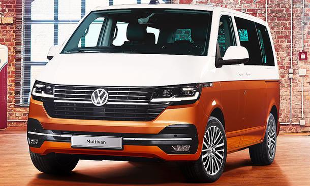 Volkswagen Transporter T6.1: Alle Details und Bilder zum Facelift 2019