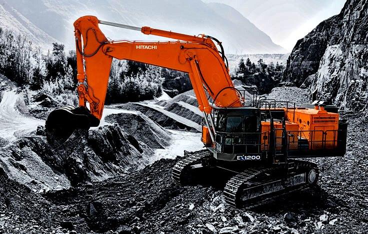 Neue Bagger-Familie von Hitachi: mehr sicher und effizienz