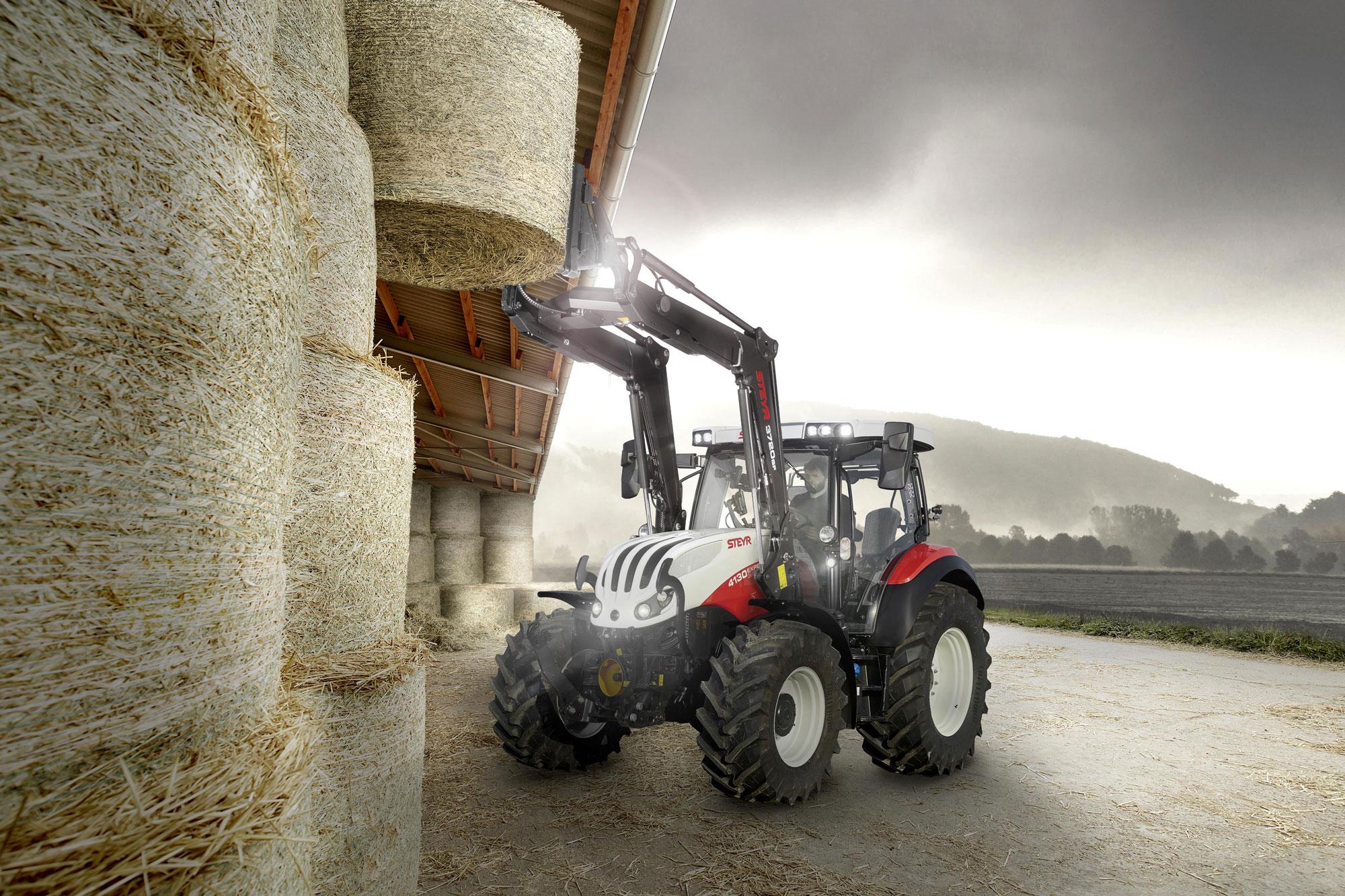 Steyr Expert CVT: Neue Traktoren der Premium-Klasse