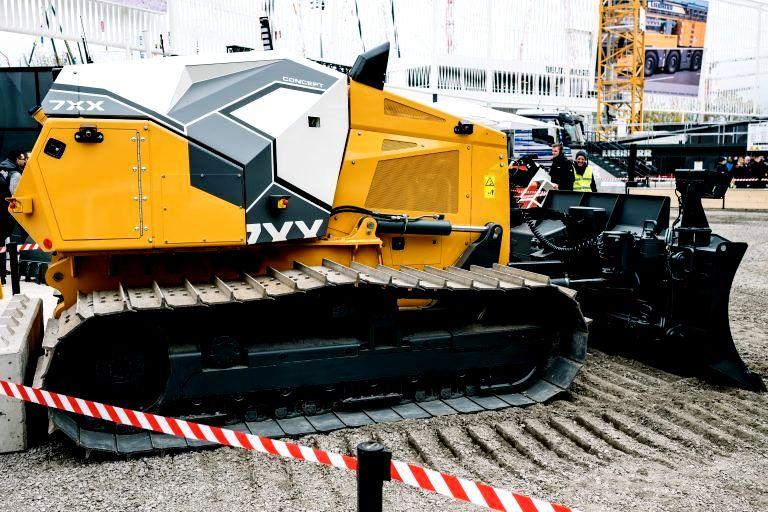 Liebherr präsentierte das Konzept des fernbedienten Bulldozers 7XX