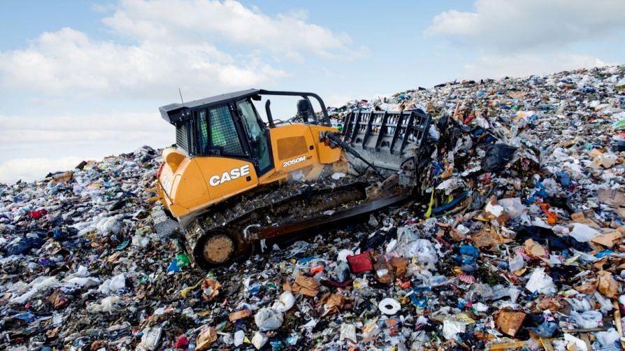 Bulldozer für Deponien: Case IH präsentierte seine Neuheit