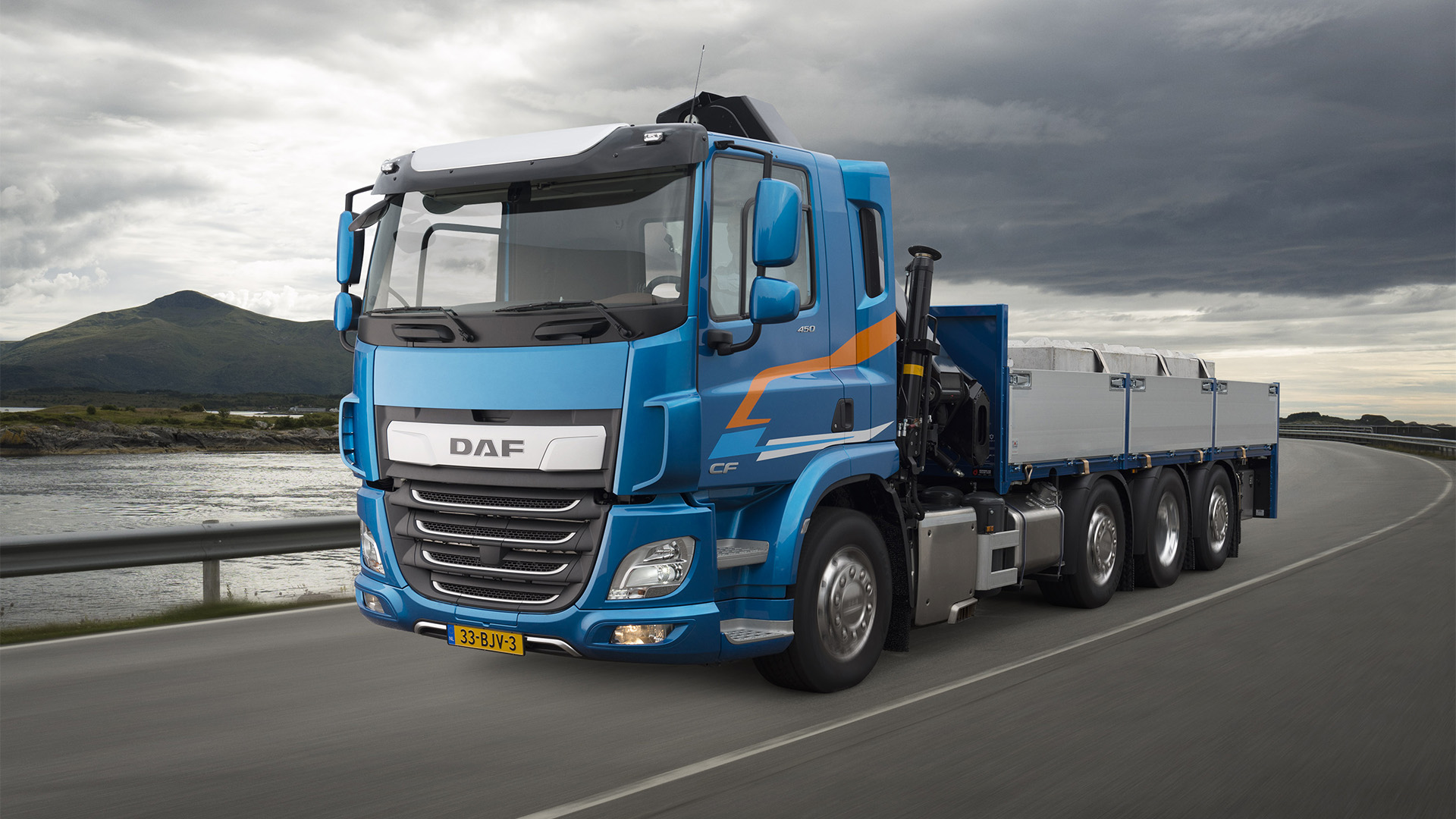 DAF CF Baureihe wurde zum TOP BAU TRUCK in der Slowakei gekürt