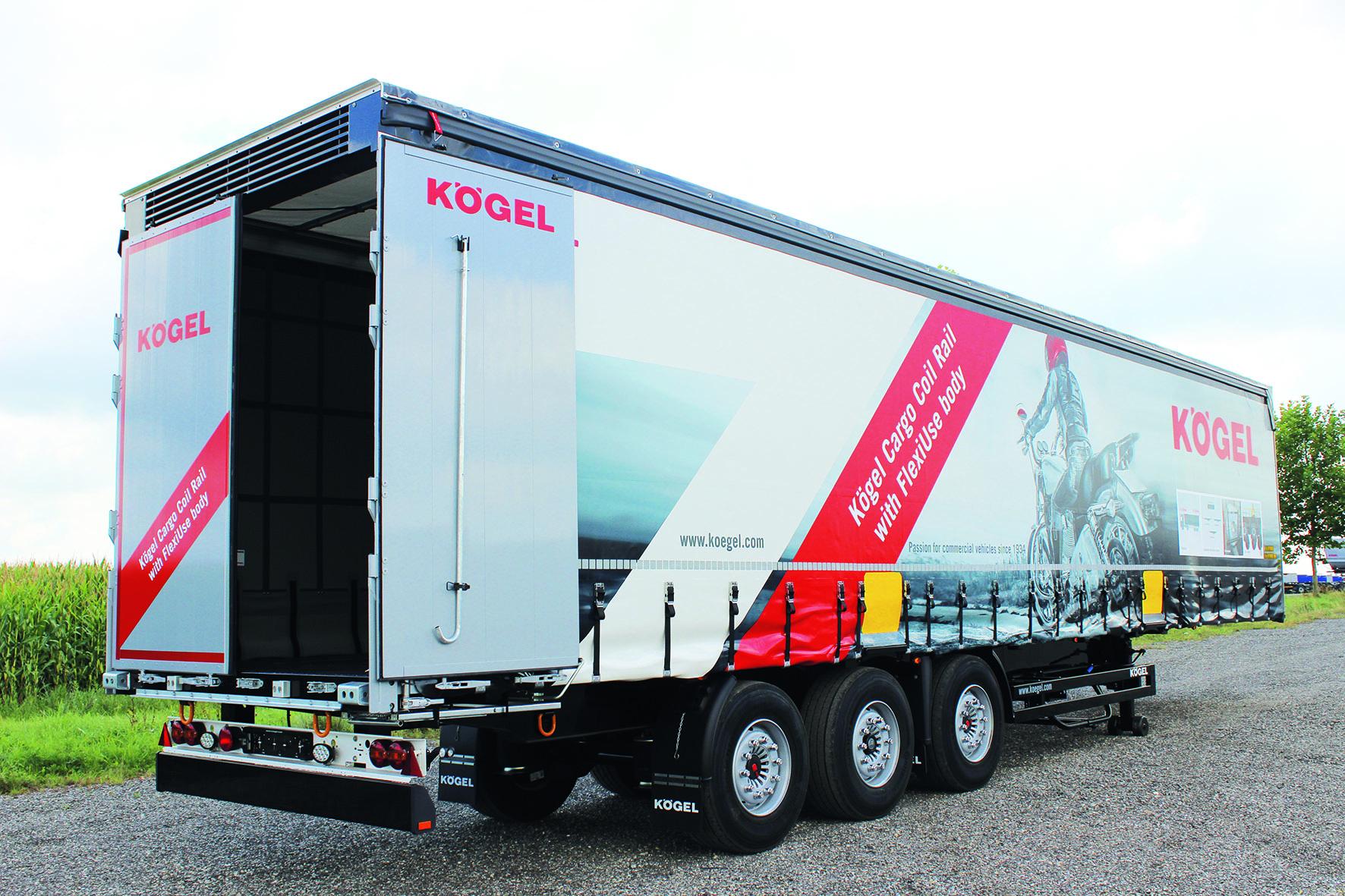 Kögel stellt den Cargo Rail der NOVUM-Generation vor