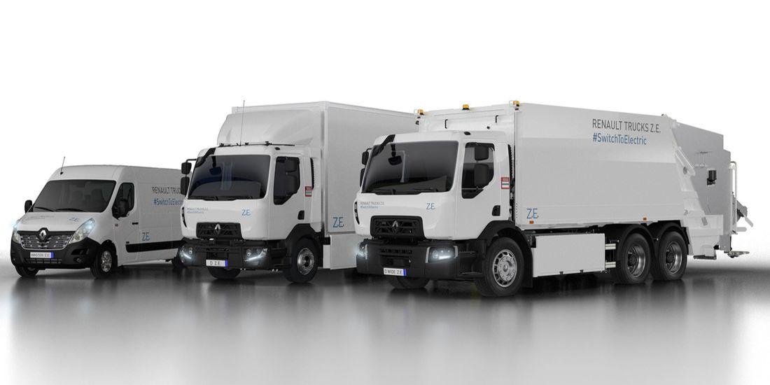Renault Trucks liefert A D Wide Z.E. nach Lyon Metropole