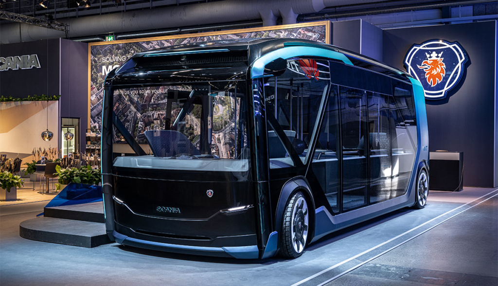 Scania präsentiert rekonfigurierbares städtisches Nutzfahrzeugkonzept