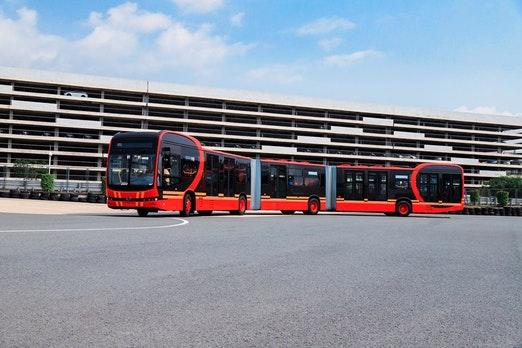 Der längste Elektrobus der Welt, der von BYD auf den Markt gebracht wurde